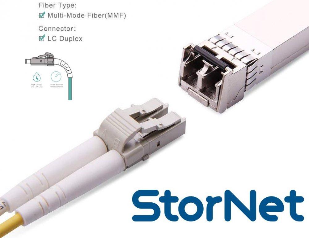 15 METRE StorNET LC TO LC OM3 KABLO 10GbE Fiber Bağlantı Kablosu