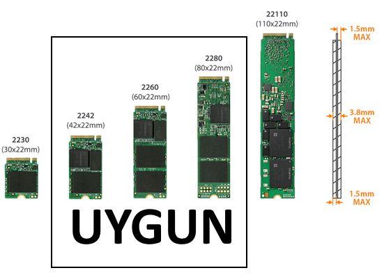ST-NVMe-4 PCI Express x16 Slot 4-Port M.2 NVMe SSD-Kart