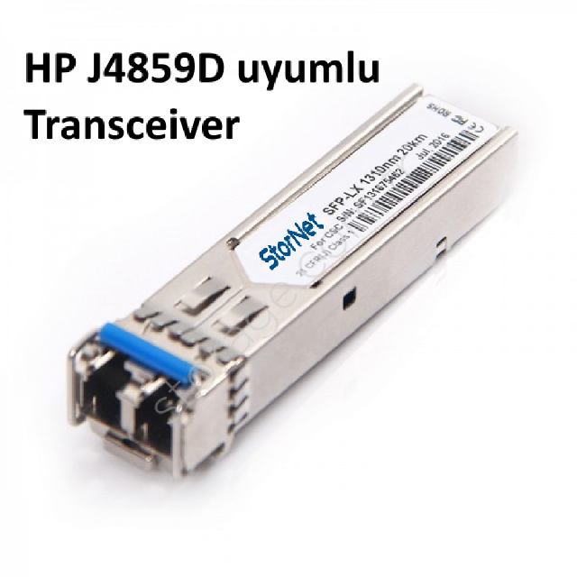HP J4859D Uyumlu 1000Base-LX  LC-20Km-1310nm-Single-Mode  Sfp Transceiver