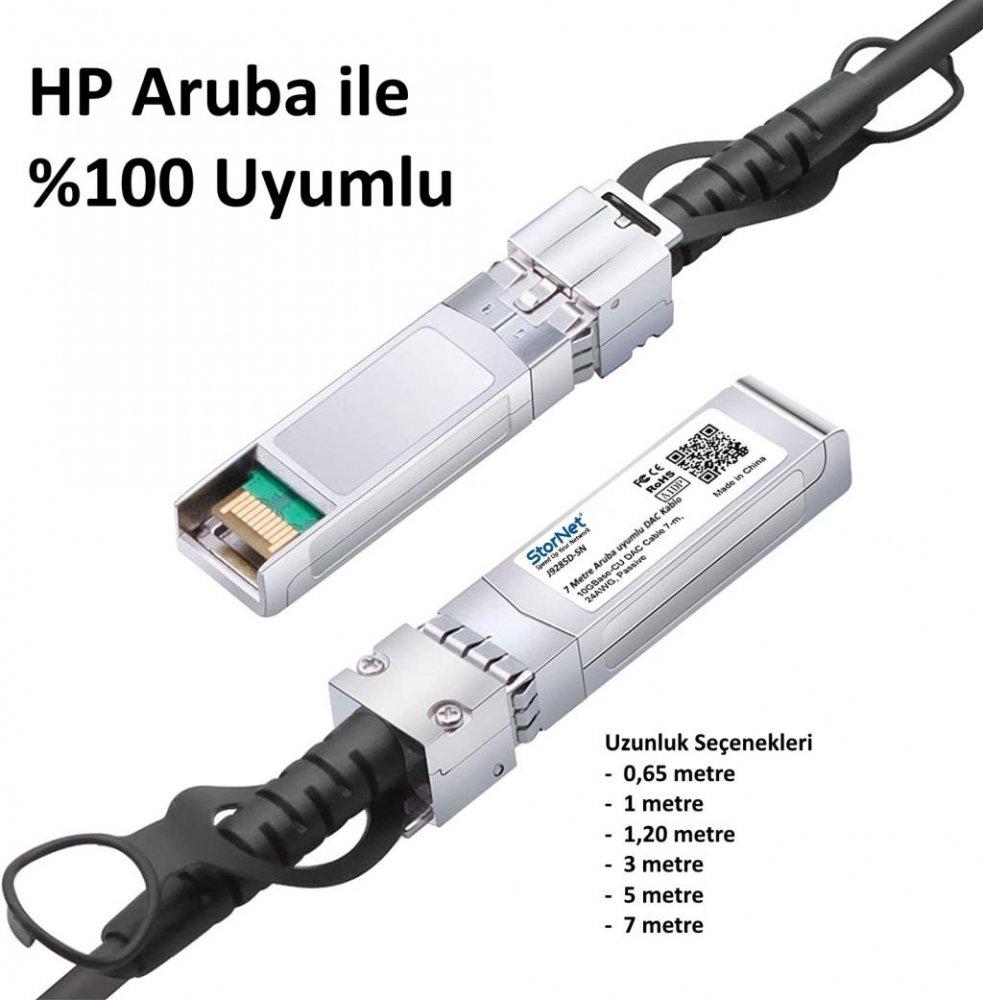 J9281D Aruba uyumlu 10G SFP+ 1metre DAC Kablo