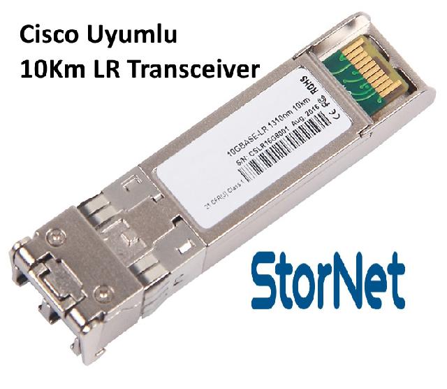 STN1319210 SFP+ 10Gbps SMF, 1310nm 10KM Cisco Uyumlu LR Transceiver - StorNET